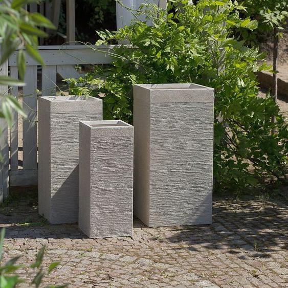 Blumentopf 3er Set beige DION