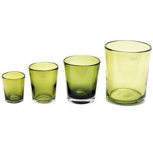 Blumetopf/-vase CONIC, Olive Colori