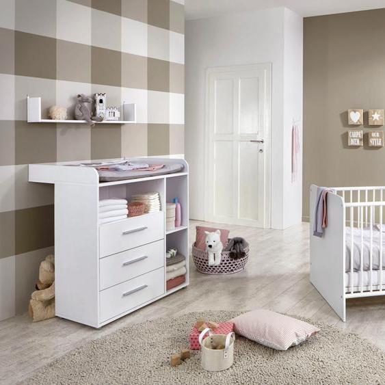 BMG Babymöbel-Set Luis (Set, 3-tlg) Einheitsgröße weiß Baby Baby-Möbel-Sets Babymöbel Schlafzimmermöbel-Sets