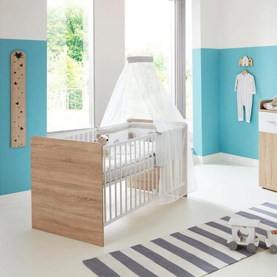 BMG Babymöbel-Set Maxim (Set, 2-tlg) Einheitsgröße beige Baby Baby-Möbel-Sets Babymöbel Schlafzimmermöbel-Sets
