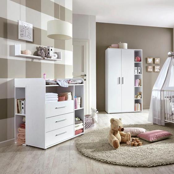 BMG Babyzimmer-Komplettset Luis (Set, 6-tlg) Einheitsgröße weiß Baby Baby-Möbel-Sets Babymöbel Schlafzimmermöbel-Sets
