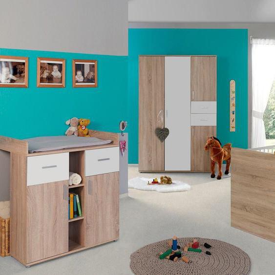 BMG Babyzimmer-Komplettset Maxim (Set, 3-tlg) Einheitsgröße beige Baby Baby-Möbel-Sets Babymöbel Schlafzimmermöbel-Sets