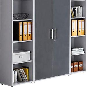 BMG Büro-Set TABOR 3 hoch, (Set, 2 St.) Einheitsgröße grau Büromöbel-Sets Arbeitszimmer