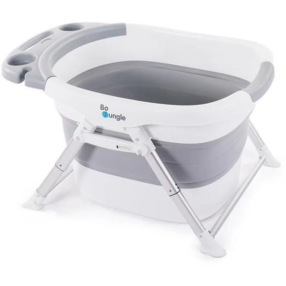 Bo Jungle B-Foldable Baby-Badewanne für Dusche Grau und Weiß