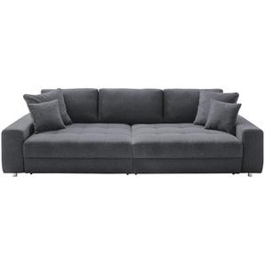 bobb Big Sofa  Arissa de Luxe ¦ grau ¦ Maße (cm): B: 292 H: 84 T: 120