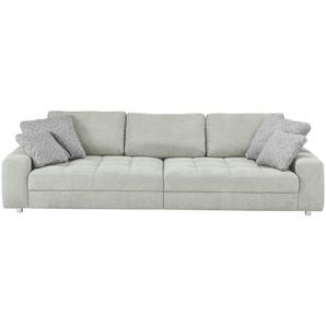 bobb Big Sofa grau - Flachgewebe Arissa ¦ grau ¦ Maße (cm): B: 292 H: 84 T: 120