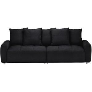 bobb Big Sofa  Betty | schwarz | 266 cm | 90 cm | 104 cm | Möbel Kraft