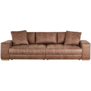 bobb Big Sofa | braun | 302 cm | 68 cm | 136 cm | Möbel Kraft