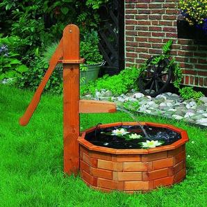 Boden Brunnen aus Holz