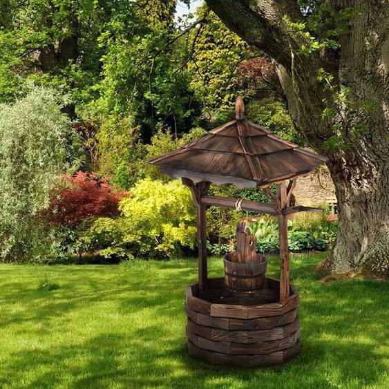 Bodenbrunnen Loreley aus Holz