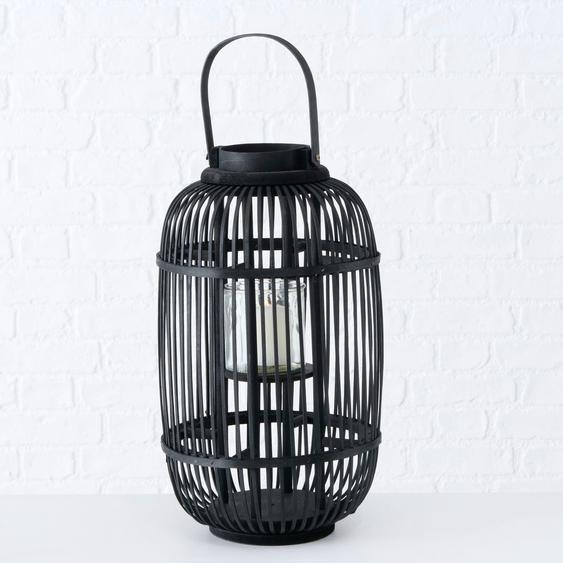 BOLTZE Laterne Samea H: 46 cm schwarz Kerzenhalter Kerzen Laternen Wohnaccessoires