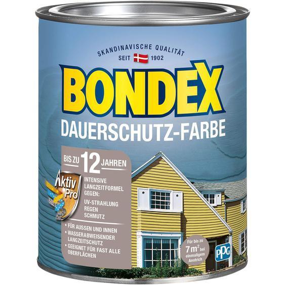 Bondex Dauerschutz-Farbe Morgenweiß seidenglänzend 750ml