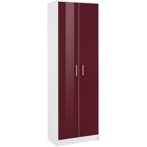 Garderobenschrank mit 2 Türen, lila, BxHxT, »Finn«,