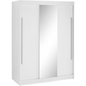 Garderobenschrank Breite 134 cm »Torben«, weiß, BxHxT, borchardt Möbel