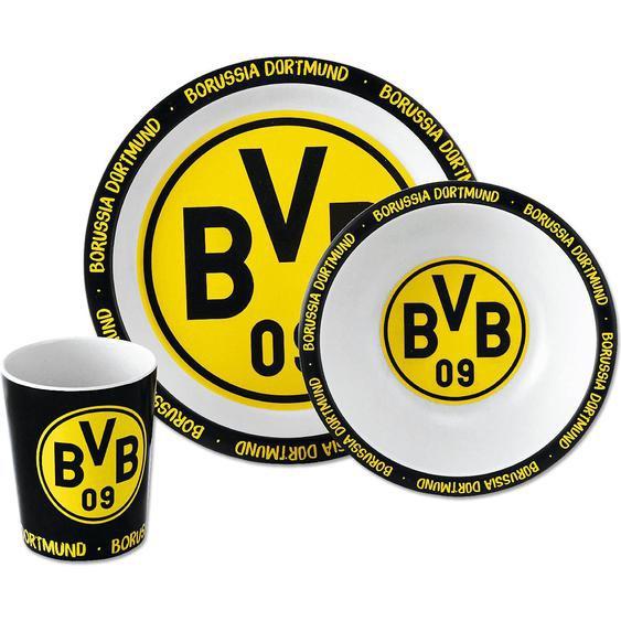 Borussia Dortmund BVB-Bambus-Geschirr-Set 3er Set