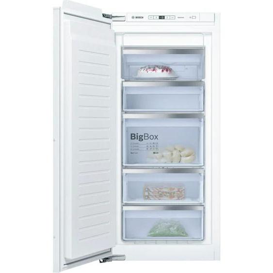 BOSCH Einbaugefrierschrank GIN41ACE0, 6, 122,1 cm hoch, 55,8 breit E (A bis G) Linksanschlag weiß Gefrierschränke SOFORT LIEFERBARE Haushaltsgeräte