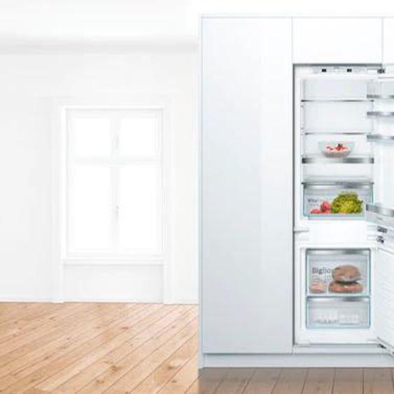 BOSCH Einbaukühlgefrierkombination KIS77AFE0 E (A bis G) Rechtsanschlag weiß Kühlschränke SOFORT LIEFERBARE Haushaltsgeräte