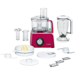 BOSCH Kompakt-Küchenmaschine, rot, Material Kunststoff