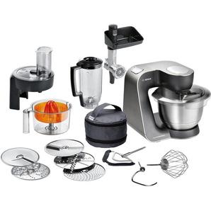 BOSCH Küchenmaschine, schwarz, Material Edelstahl