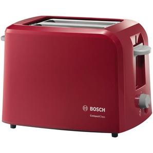 BOSCH Toaster  TAT 3A014 - rot - Metall, Kunststoff - 31 cm - 19 cm - 16 cm | Möbel Kraft