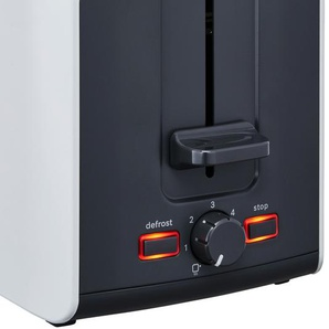 BOSCH Toaster  TAT 6A111 - weiß - Metall, Kunststoff - 30,7 cm - 18,8 cm - 17 cm | Möbel Kraft