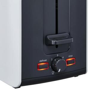 BOSCH Toaster  TAT 6A111 ¦ weiß ¦ Kunststoff, Metall ¦ Maße (cm): B: 30,7 H: 18,8 T: 17