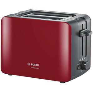 BOSCH Toaster  TAT 6A114 - rot - Metall, Kunststoff - 30,7 cm - 18,8 cm - 17 cm | Möbel Kraft