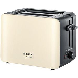BOSCH Toaster  TAT 6A117 - creme - Metall, Kunststoff - 30,7 cm - 18,8 cm - 17 cm | Möbel Kraft