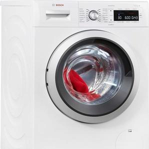 BOSCH Waschmaschine,  Fassungsvermögen8 kg, Energieeffizienzklasse A+++, weiß