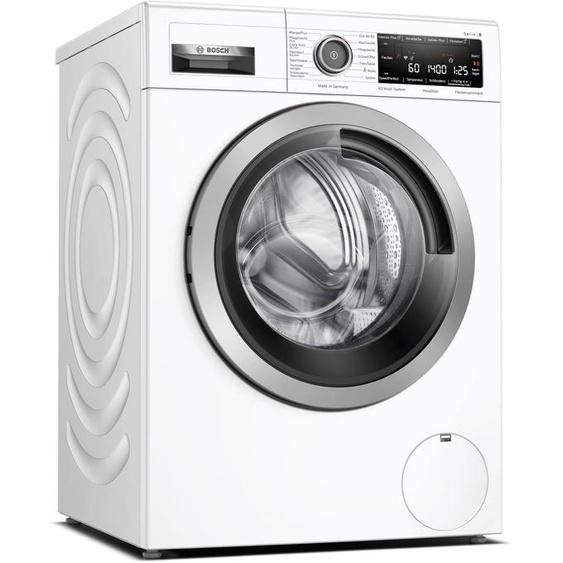 BOSCH Waschmaschine WAV28M43, 9 kg, 1400 U/min A (A bis G) Einheitsgröße weiß Waschmaschinen Haushaltsgeräte