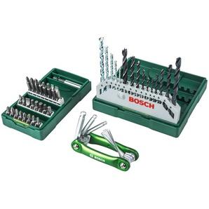BOSCH Werkzeugset, (Set, 31 St.), Bohrerset + 25 teilige Schrauberbit-Set Sechskant-Faltwerkzeug Einheitsgröße grün Werkzeugset Werkzeugkoffer Werkzeug Maschinen
