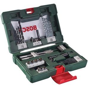 BOSCH Werkzeugset V-Line, (Set, 41 St.), Bohrer- und Bits, mit Winkelschrauber Einheitsgröße grün Werkzeugkoffer Werkzeug Maschinen