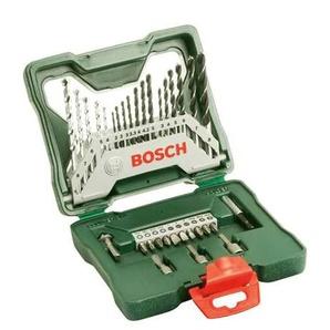BOSCH Werkzeugset X-Line, (Set, 33 St.), Bohrer- und Schrauber Einheitsgröße grün Werkzeugkoffer Werkzeug Maschinen