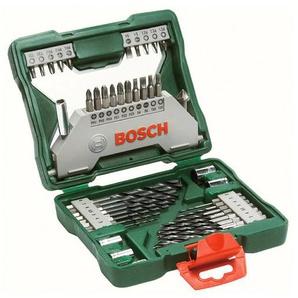 BOSCH Werkzeugset X-Line, (Set, 43 St.), Sechskantbohrer Einheitsgröße grün Werkzeugkoffer Werkzeug Maschinen