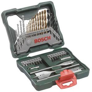 BOSCH Werkzeugset X-Line Titanium, (Set, 40 St.) Einheitsgröße grün Werkzeugkoffer Werkzeug Maschinen