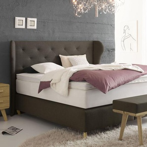boxspringbetten in blau preisvergleich moebel 24. Black Bedroom Furniture Sets. Home Design Ideas