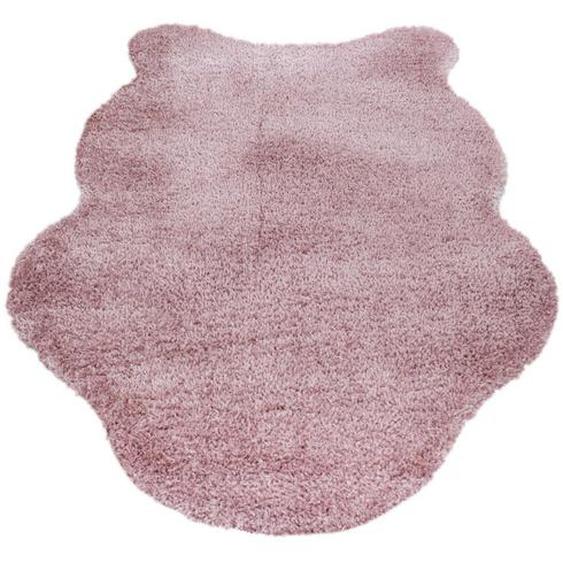 Boxxx Kunstfell 133/190 cm Rosa , Textil, Fell , 133 cm