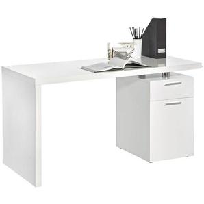 Boxxx: Tisch, Weiß, B/H/T 140 75 65