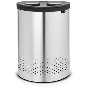 Brabantia Wäschekorb »Selector Matt Steel 55 L«