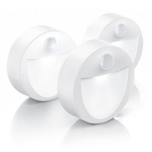 Brandson Batteriebetriebenes LED Nachtlicht »Nachtlampe mit Bewegungsmelder & Dämmerungssensor«