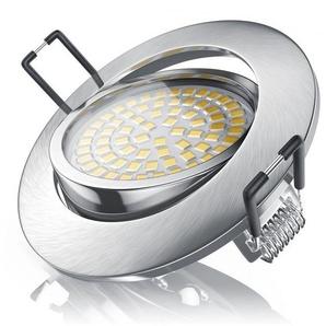 Brandson LED Deckenspot mit Aluminium Druckgussrahmen »Einbaustrahler / Warmweiß / schwenkbar«