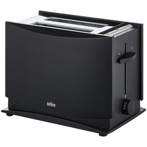 Braun Toaster  HT 450 - schwarz - Kunststoff, Metall - 29 cm - 27,3 cm - 20 cm | Möbel Kraft
