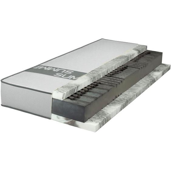 Breckle Gelschaummatratze SMARTSLEEP 10000 LaPur Gel, (1 St.), Premiumqualität ohne Kompromisse - für Schwitzer 26, belastbar bis 150 kg, 1x 90x200 cm, ca. 23 cm weiß Gelschaum-Matratzen Matratzen Matratze