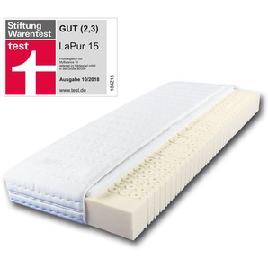 breckle LaPur® 15 Spezial-7-Zonen-Klimaschaummatratze (90x200, mittelfest)