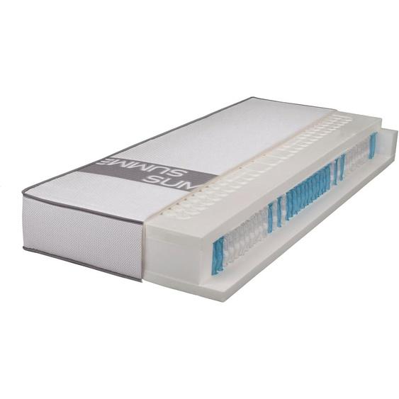 Breckle Taschenfederkernmatratze SMARTSLEEP 8000 LaPur, (1 St.), die wahrscheinlich beste Matratze für Schwitzer 26, belastbar bis 150 kg, 1x 80x200 cm, ca. 23 cm weiß Taschenfederkern Federkernmatratzen Matratzen
