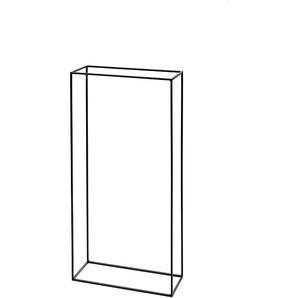 Brennholzständer Kwadrat Steele mehrfarbig, Designer Patrick De Vriendt, 120x60x25 cm