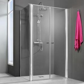 Breuer Dusche Elana 6 Seitenwand für Pendeltür 100 cm inkl. CER+ Beschichtung - BREUER GMBH & CO.KG