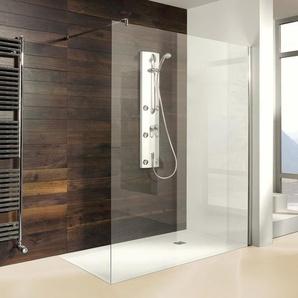 Breuer Dusche Entra Duschwand alleinstehend - Walk-IN 120 cm inkl. CER+ Beschichtung - BREUER GMBH & CO.KG