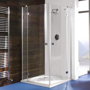 Breuer Dusche Espira Eckeinstieg Drehtür 4-teilig 90x90 cm inkl. CER+ Beschichtung - BREUER GMBH & CO.KG