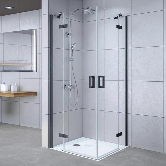 Breuer®-Dusche »Panorama« - schwarz -